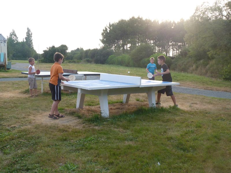 Tables de ping-pong
